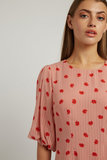 Louche Zeyneb Oakleaf Midi Dress