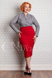 Agnes-Rose Skirt Red