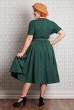 Athena-Gia Dress Emerald