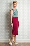 Emese-Raspberry Skirt Raspberry