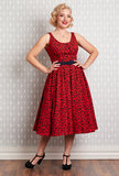 Flava-Rose Dress Red