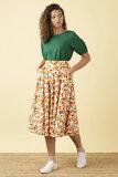 Emily and Fin Sandy Mini Summer Oranges Skirt