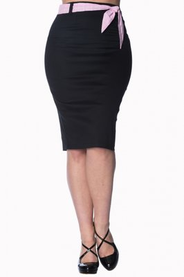 Banned Grease Pencil Skirt