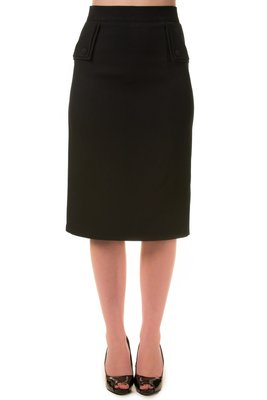 Banned Tori Pencil Skirt Black