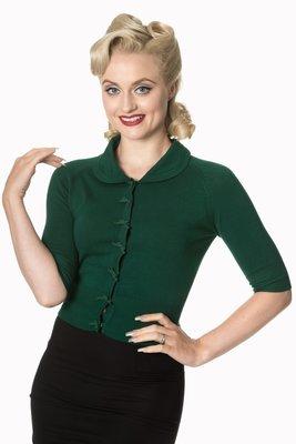 April Cardigan Dark Green