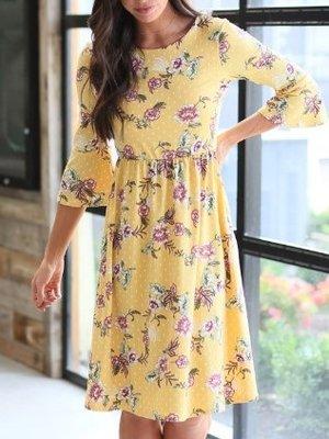 Mikarose Naomi Dress Dijon