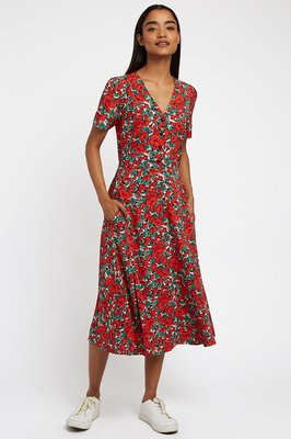 Louche Avril Zinnia Midi Dress