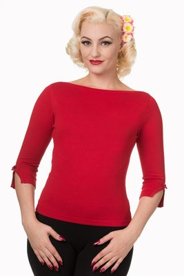 Addicted Sweater Red