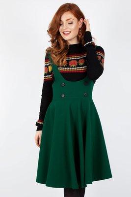 Phoebe High Waisted Overall Skirt