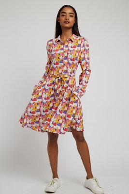 Louche Indy Geocats Mini Dress