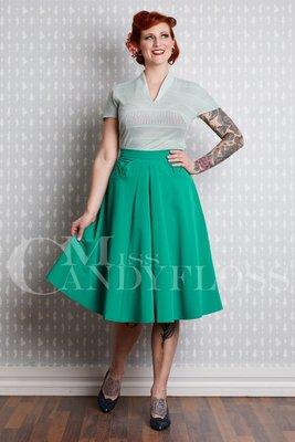 Heloise-Ivy Skirt Green