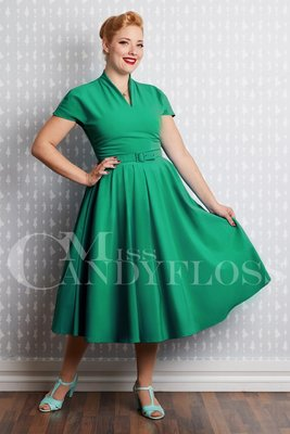 Aemela-Ivy Dress Green