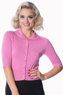 Banned April Cardigan Pink