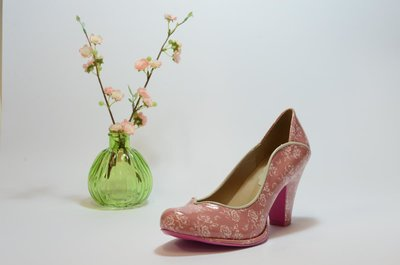 Emmy Pump Pink Floral