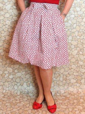 Skirt Raspberry Sky