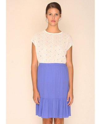 Rose Skirt Blue