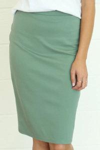 Mikarose Seafoam Pencil Skirt