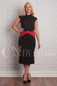 Eva-Lou Skirt Black Red