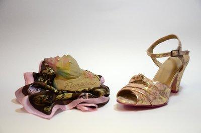Cristofoli Amanda Sandal Gold & Bronze