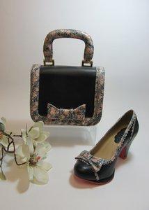 Bag Navy & Floral