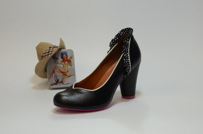 Cristofoli Cherry Pump Black & Polka