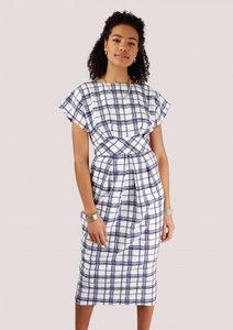 closet shaped waistband dress
