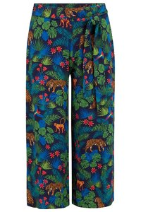 Tanya Jungle Print Culotes