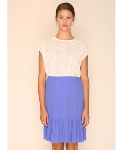 Rose Skirt Blue